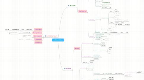 Mind Map: LE MARCHE DE LA BIERE