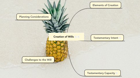 Mind Map: Creation of Wills