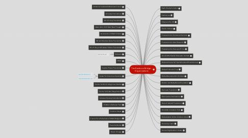 Mind Map: The Rainbow Bridge - Organizations