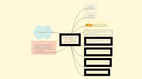 Mind Map: H Aγία Σοφία, ένα αριστούργημα αρχιτεκτονικής