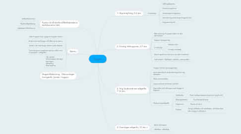 Mind Map: Piaget