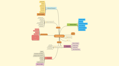 Mind Map: The Enverinment