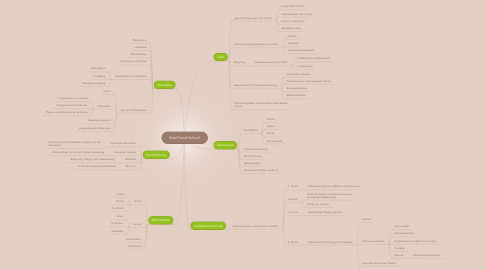 Mind Map: Vital Food School