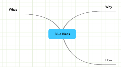 Mind Map: Blue Birds