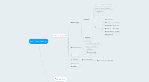 Mind Map: Auto Posto Camargo