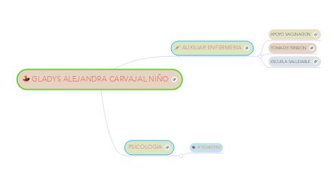 Mind Map: GLADYS ALEJANDRA CARVAJAL NIÑO