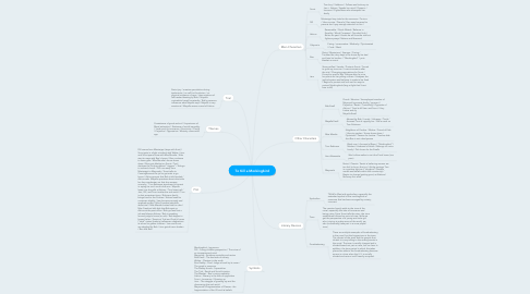 Mind Map: To Kill a Mockingbird