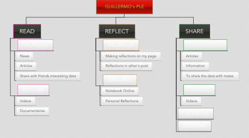 Mind Map: GUILLERMO's PLE