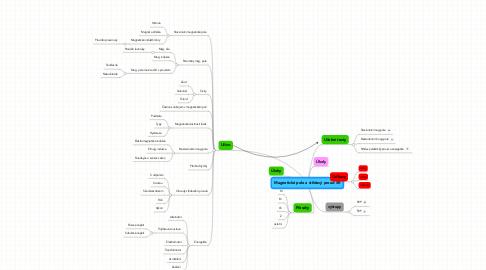 Mind Map: Magnetické pole a střídavý proud 5R