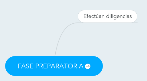 Mind Map: FASE PREPARATORIA