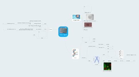 Mind Map: תורשה ורבייה