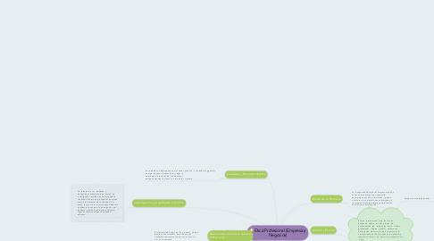 Mind Map: Etica Profesional (Empresa y Negocios)