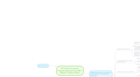 Mind Map: UTH Florida University - Finanzas Aplicadas Tarea M4-1 Maestro: Gustavo Solano