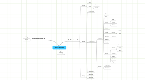 Mind Map: Mary Lukianchuk