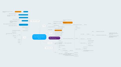 Mind Map: Tema 3 Implementación de proyectos de innovación  lectura