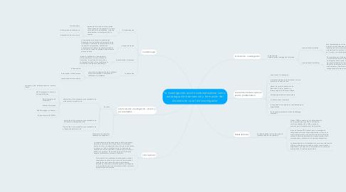 Mind Map: la investigación-acción sistematizadora como estrategia de intervención y formación del docente en su rol de investigador