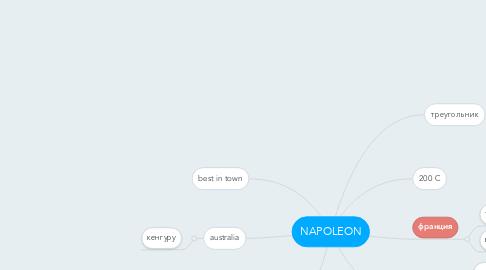 Mind Map: NAPOLEON