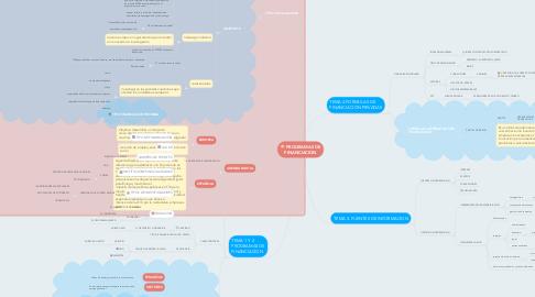Mind Map: PROGRAMAS DE FINANCIACION