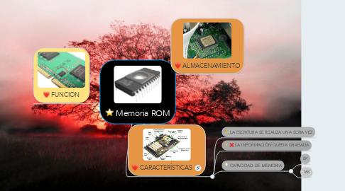 Mind Map: Memoria ROM
