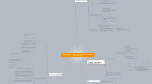 Mind Map: DEMANDA EN EL MARCO DEL PROCESO CONTENCIOSO ADMINISTRATIVO