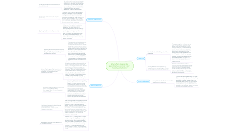 Mind Map: What affect does secular parenting have on their child's morality and altruism?