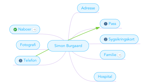 Mind Map: Simon Burgaard