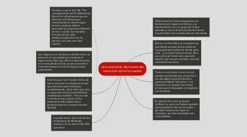 Mind Map: Una economía de monos tan irracional como la nuestra