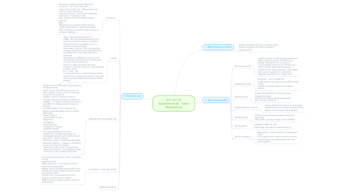 Mind Map: ST1 CH 16 Assumptions (4) - Other Assumptions