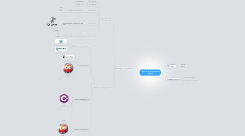 Mind Map: Lenguajes de Programación Actuales