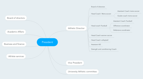 Mind Map: President