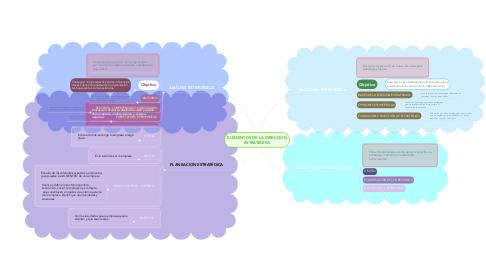 Mind Map: ELEMENTOS DE LA DIRECCIÓN ESTRATÉGICA