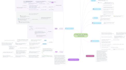 Mind Map: La evaluación con enfoque constructivista
