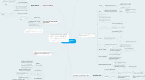 Mind Map: ENTORNOS SOCIALES Y CULTURALES