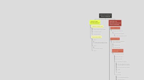 Mind Map: IDENTIFICACIÓN DE OPORTUNIDADES
