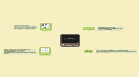 Mind Map: โปรโทคอล ( Protocol )
