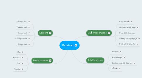 Mind Map: Bigshop