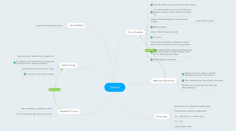 Mind Map: Tanıtım