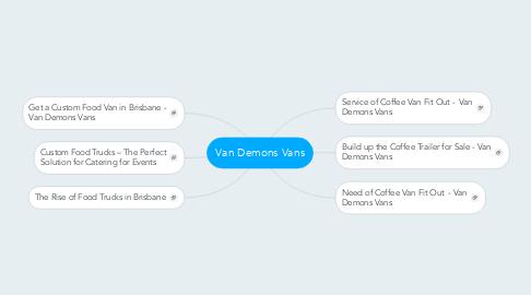 Mind Map: Van Demons Vans