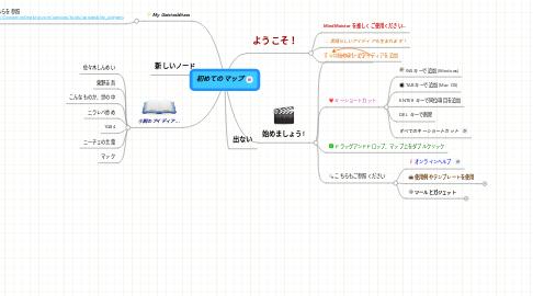 Mind Map: 初めてのマップ