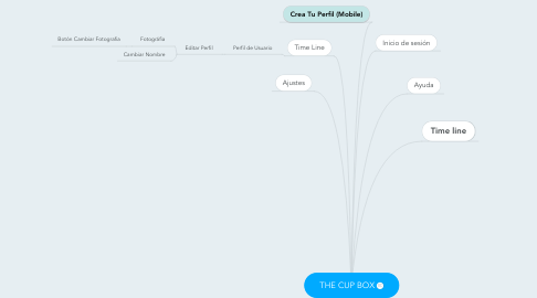 Mind Map: THE CUP BOX