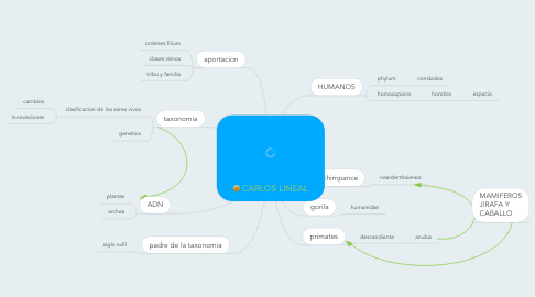 Mind Map: CARLOS LINEAL