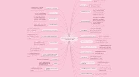 Mind Map: DESARROLLO PSICOSOCIAL EN LA NIÑEZ MEDIA
