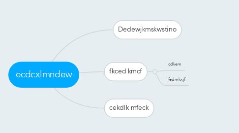 Mind Map: ecdcxlmndew