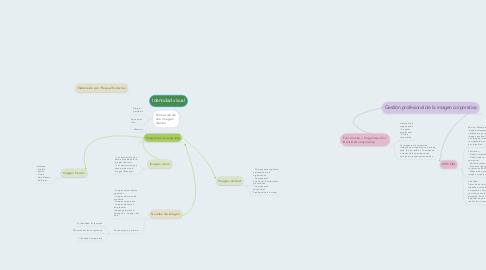 Mind Map: Identidad visual