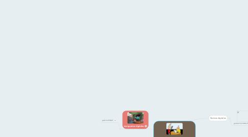 Mind Map: Nativos e inmigrantes digitales