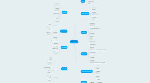 Mind Map: Alimentación