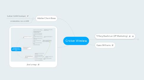 Mind Map: Cricket Wireless