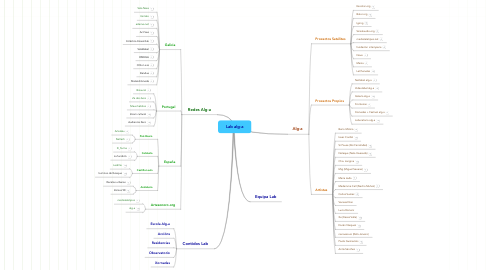 Mind Map: Lab alg-a