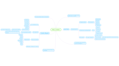 Mind Map: Mitos y verdades