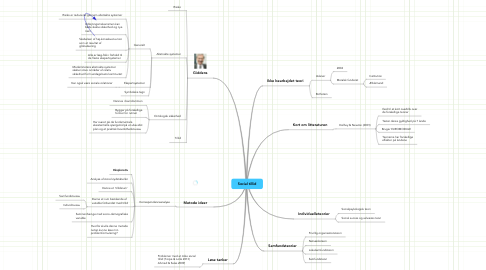 Mind Map: Social tillid